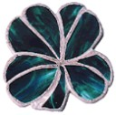 4 leaf clover for stained glass - Concrete Stepping Stone  Mold