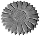 Sunflower  - Concrete Stepping Stone  Mold