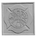 Fire Dept Insignia  - Concrete Stepping Stone  Mold