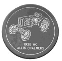 Allis-Chalmers  - Concrete Stepping Stone  Mold