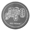 Fordson  - Concrete Stepping Stone  Mold