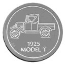 Model T Pickup Truck  - Concrete Stepping Stone  Mold