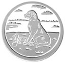 Labrador Retriever  - Concrete Stepping Stone  Mold