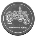 Minneapolis Moline  - Concrete Stepping Stone  Mold