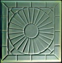 Sunburst  - Concrete Stepping Stone Mold