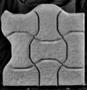 Interlock Corner B  - Concrete Paver Mold
