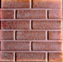 Straight Brick  - Concrete Stepping Stone Mold