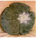 Lily Pad  - Concrete Stepping Stone Mold