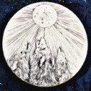 Howl at the Moon  - Concrete Stepping Stone Mold