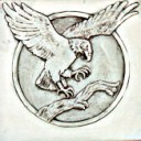 Eagle Landing  - Concrete Stepping Stone Mold