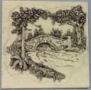 Old Stone Bridge  - Concrete Stepping Stone  Mold