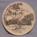 Great Blue Heron  - Concrete Stepping Stone  Mold