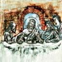 Jesus & Friends  - Concrete Stepping Stone  Mold