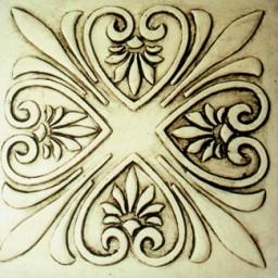 Concrete stepping stone molds gothic designs celtic knots for Roman garden designs