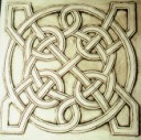 Celtic Knot  - Concrete Stepping Stone  Mold