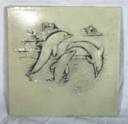 Dolphins Playing  - Concrete Stepping Stone  Mold