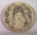 Roman Goddess  - Concrete Stepping Stone  Mold