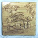 Mississippi Paddle wheeler  - Concrete Stepping Stone  Mold