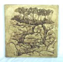 Whitewater Stream  - Concrete Stepping Stone  Mold