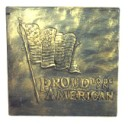 Proud To Be An American  - Concrete Stepping Stone  Mold