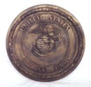 US Marines  - Concrete Stepping Stone  Mold