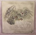 Falcon Country  - Concrete Stepping Stone  Mold