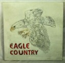 Eagle Country  - Concrete Stepping Stone  Mold