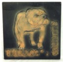 Bulldog Country  - Concrete Stepping Stone  Mold