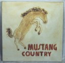 Mustang Country  - Concrete Stepping Stone  Mold