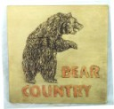 Bear Country  - Concrete Stepping Stone  Mold
