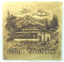 Ford Country  - Concrete Stepping Stone  Mold