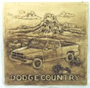 Dodge Country  - Concrete Stepping Stone  Mold