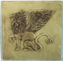 Griffin  - Concrete Stepping Stone  Mold