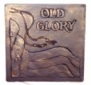 Old Glory Flag  - Concrete Stepping Stone  Mold