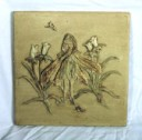 Flower Fairy  - Concrete Stepping Stone  Mold