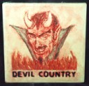 Devil Country  - Concrete Stepping Stone  Mold