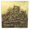 Bobcat Country  - Concrete Stepping Stone  Mold