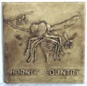 Hornet Country  - Concrete Stepping Stone  Mold