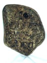 I Love My Dog  - Concrete Stepping Stone  Mold