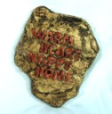 Warm Heart Happy Home  - Concrete Stepping Stone  Mold