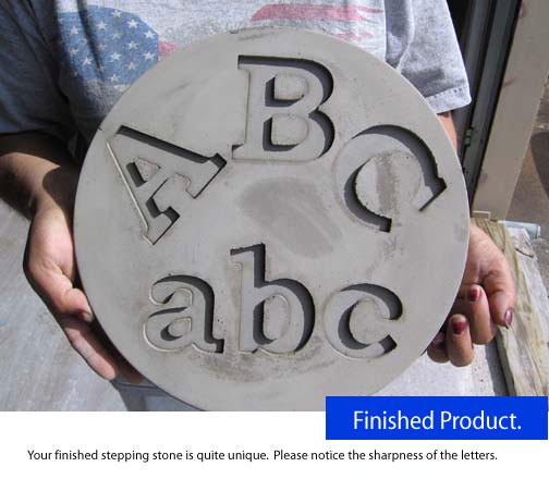 abc finished letter stonesjpg