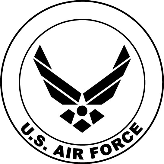 air force insignia coloring pages - photo#11