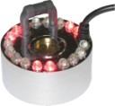 Single Disk  Jet Fogger -  with 18 LED Lights  - Transformer