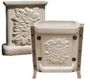 Floral Bench Leg - Concrete Bench Leg Mold