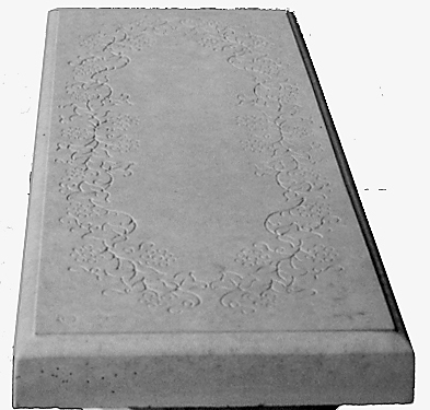 Garden Bench Top Molds Concrete Molds Cement Molds