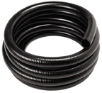 BLACK PVC HOSE  1/2 ID (PER FOOT)