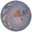 Angel Design - Concrete Stepping Stone  Mold