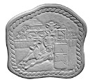 Barrel Racer - Concrete Stepping Stone  Mold