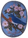 Blue Bird - Concrete Stepping Stone  Mold