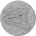 Steam Train / locomotive - Concrete Stepping Stone  Mold
